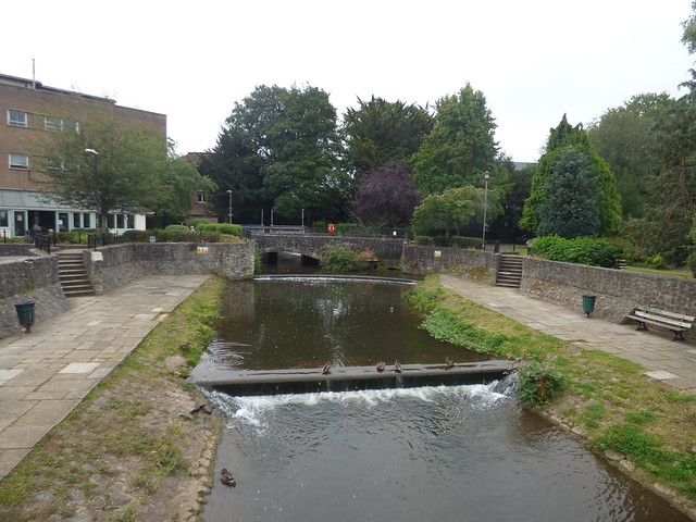 Photo:Goodland Gardens, Taunton - Old Leat from French Weir By ell brown