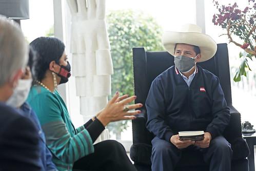 Presidente de la República, Pedro Castillo, junto a su comitiva, arribó a México, en el marco de su primera agenda de trabajo internacional.