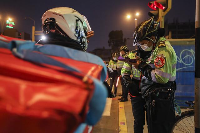 Photo:170921 MML y PNP realizan operativo conjunto contra invasión de ciclovías By FOTOGRAFIA MML
