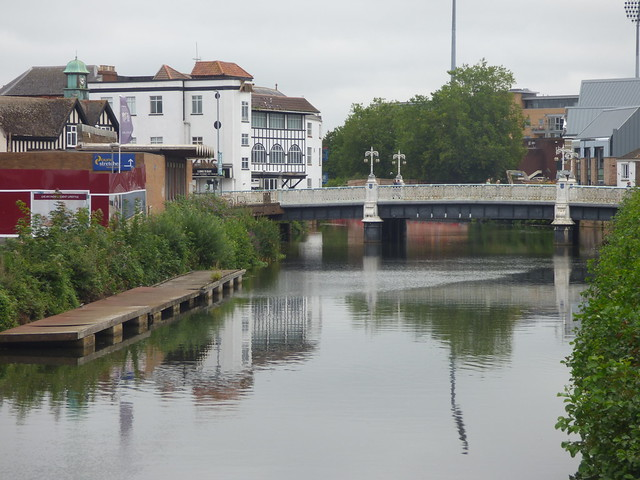 Photo:Tone Bridge - Goodland Gardens, Taunton By ell brown
