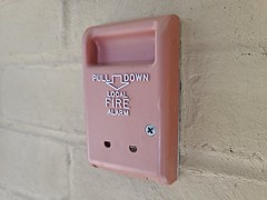 Fire alarm pull station at 12321 Middlebrook Road [01]