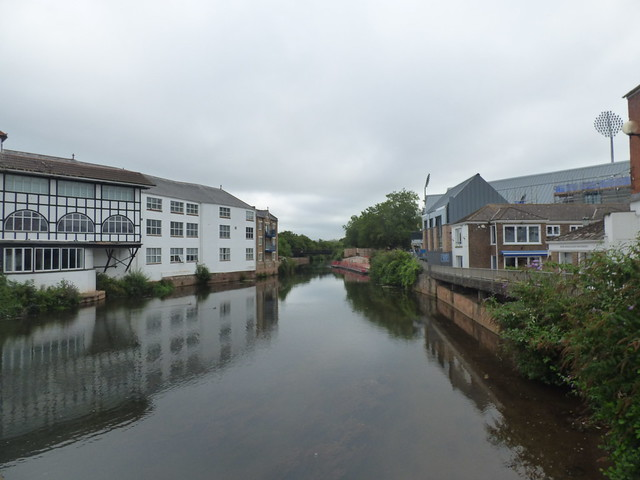 Photo:Tone Bridge - Goodland Gardens, Taunton - River Tone By ell brown
