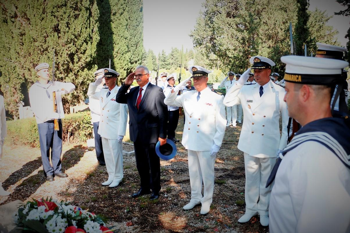 Dan Hrvatske ratne mornarice: In memoriam poginulim, nestalim i umrlim pripadnicima