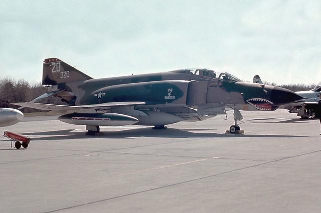 Photo:67-0320 | McDonnell Douglas | F-4E Phantom II | USAF By Florian DSO