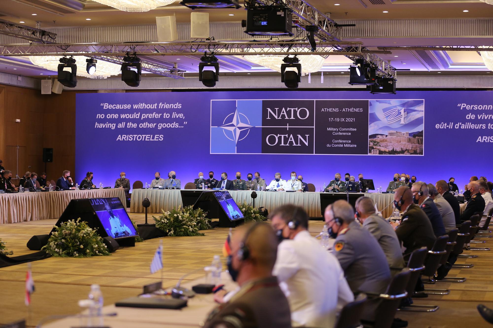 Admiral Hranj na konferenciji Vojnog odbora NATO-a