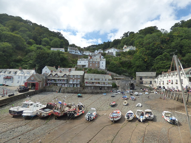 Photo:The Quay from The Pier at Clovelly By ell brown