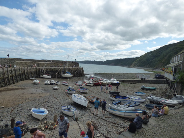 Photo:The Pier at the Quay in Clovelly By ell brown