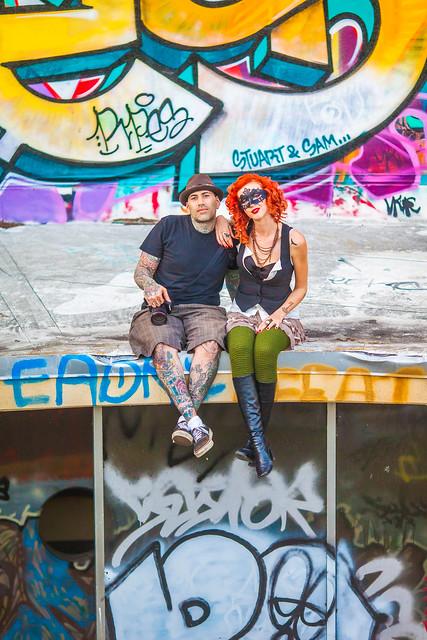Photo:Sly and Charli By Thomas Hawk