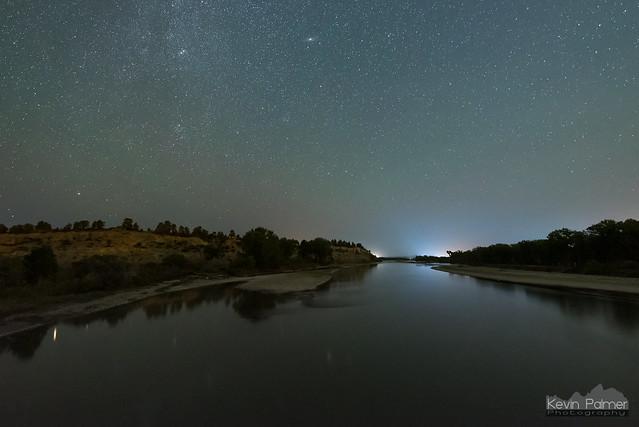 Downstream Yellowstone River