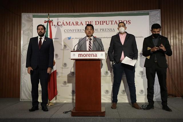 14/09/2021 Conferencia de Prensa Dip. Emmanuel Reyes Carmona