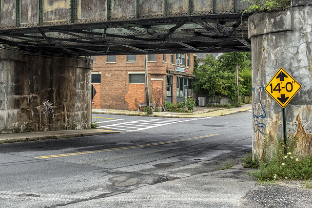 Trestle and Shop