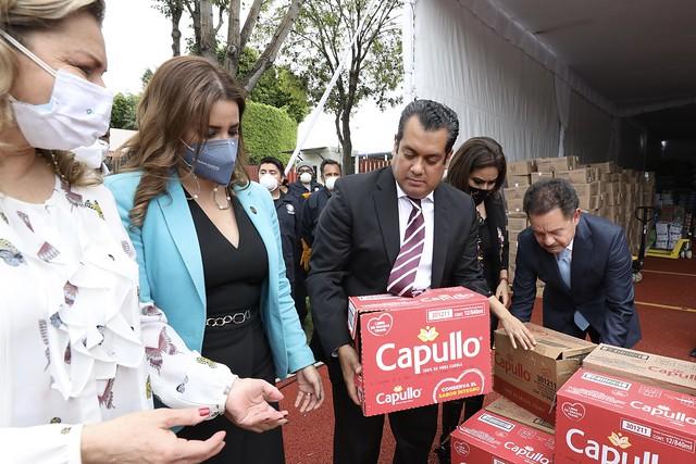 13/09/2021 Colecta de víveres para los Estados de Hidalgo, Puebla y Veracruz
