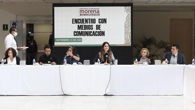 21/09/2021 Encuentro Con Medios De Comunicación