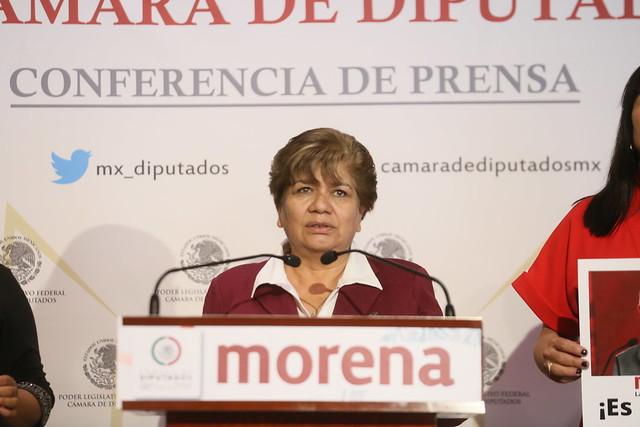 21/09/2021 Conferencia De Prensa Diputada María Eugenia Hernández