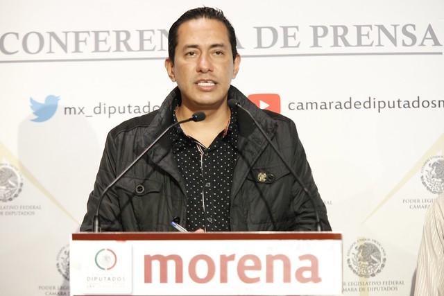 21/09/2021 Conferencia Prensa Juan Pablo Sanchez Rodríguez