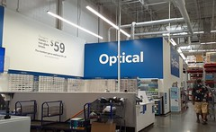 I've been purchasing glasses from this very optical department for as long as I can remember