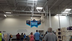 New fast-lane signage at the recently remodeled Southaven Sam's Club
