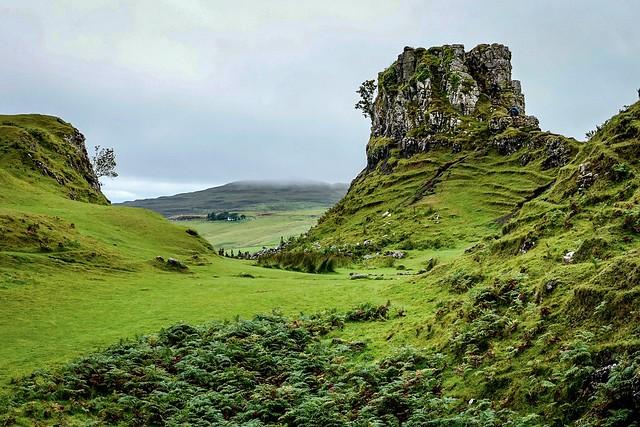 Fairy Glen on Isle of Skye