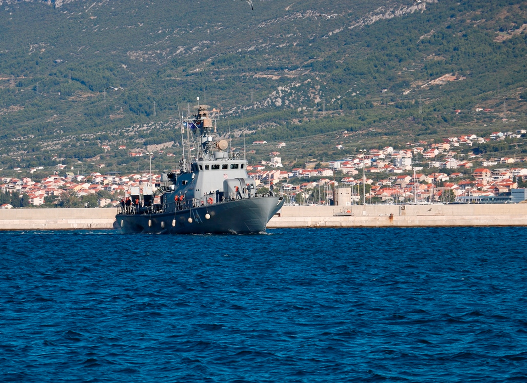 Povratak 5. hrvatskog kontingenta iz operacije