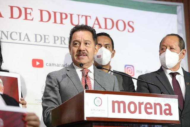 23/09/2021 Conferencia De Prensa Dip. Ignacio Mier Velazco