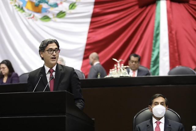 23/09/2021 Tribuna Dip. Erasmo González Robledo