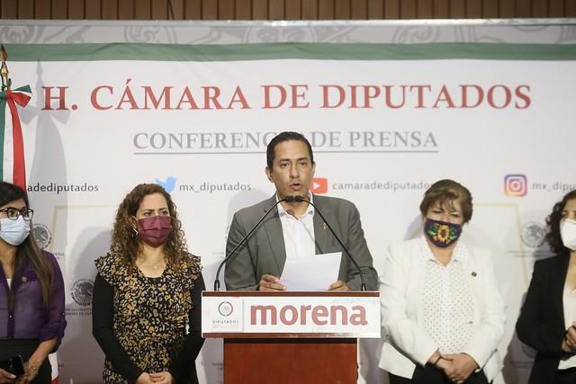 23/09/2021 Conferencia De Prensa Diputados Estado De México