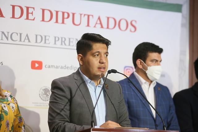 23/09/2021 Conferencia De Prensa Diputado Emmanuel Reyes Carmona