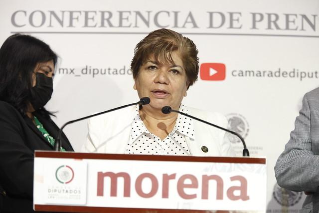 23/09/2021 Conferencia Prensa María Eugenia Hernandez Balance Reunión Celacanto