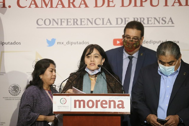 23/09/2021 Conferencia De Prensa Diputada Inés Parra