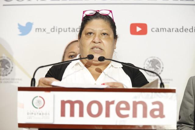 23/09/2021 Conferencia Prensa Dip Olga Leticia Chavez Rojas