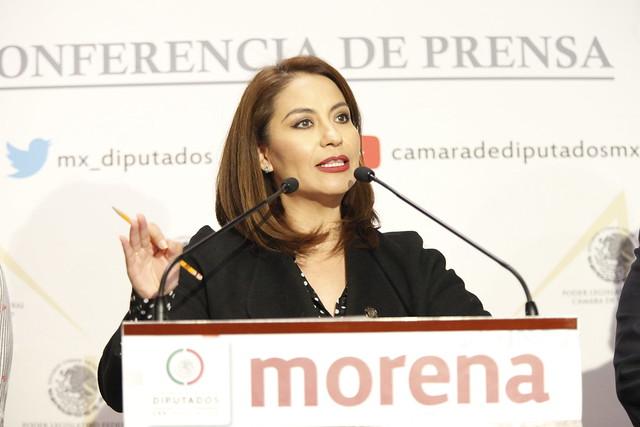 23/09/2021 Conferencia Prensa Dip Maribel Aguilera Chairez