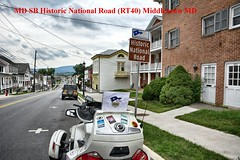 MD SB Historic National Road (RT40) Middletown MD