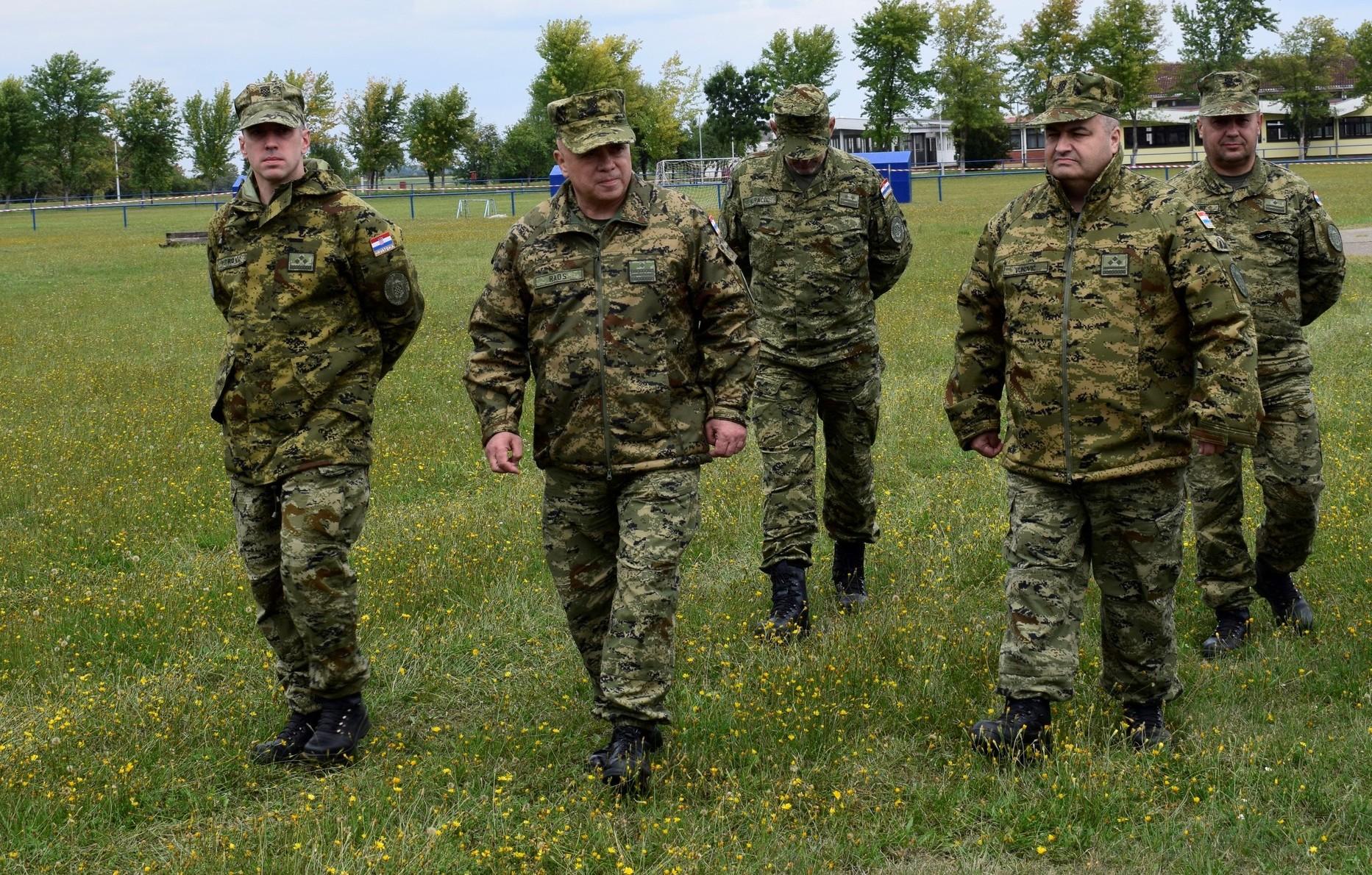 Zapovjedništvo za potporu provelo vojnu vježbu