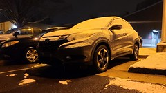 Honda HR-V with a dusting of snow [01]