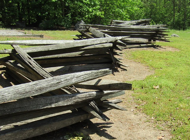 Photo:A Colonial-style Split Rail Fence By David Hoffman '41