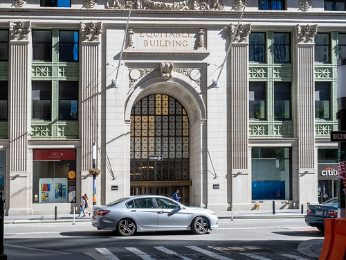 Equitable Building - Entrance