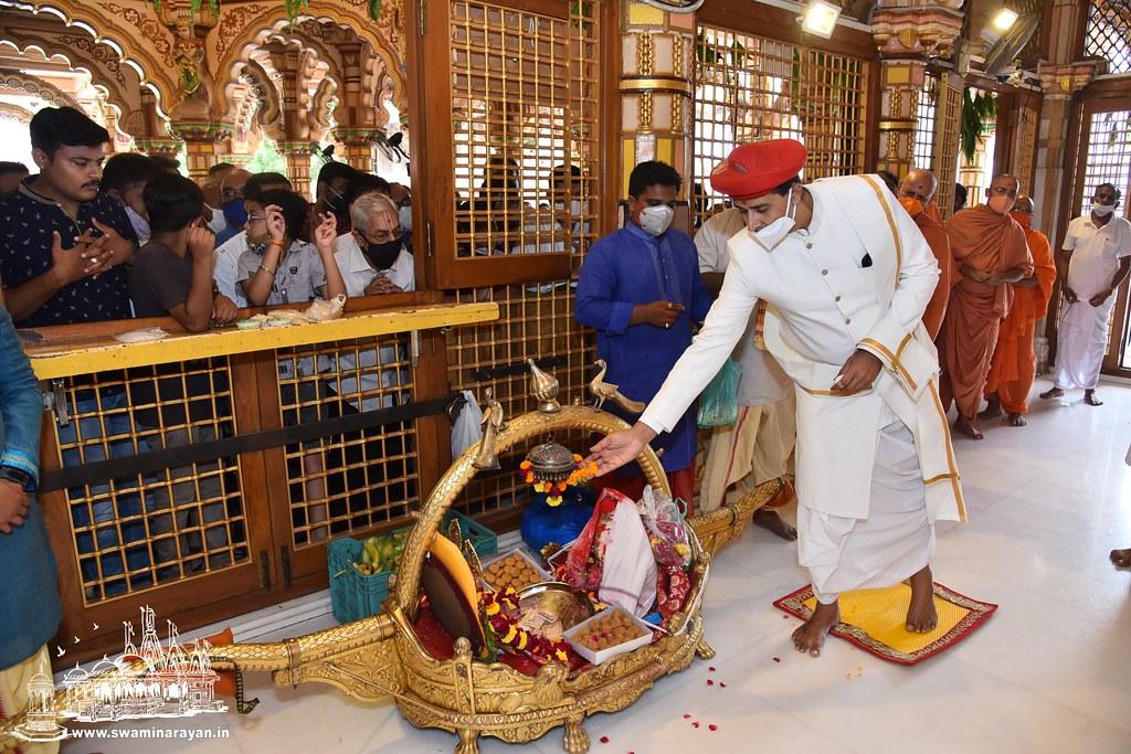 Jaljilani Ekadashi celebrations at Kalupur Mandir