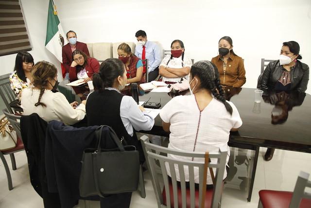 27/09/2021 Reunión Mesa Temática Pueblos Indígenas