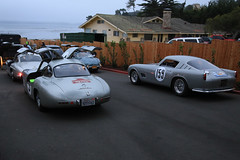 Mercedes-Benz 300SL Carrera Panamericana No 3 1952 Ferrari 250 GT LWB TdF Scaglietti Berlinetta s-n 0619GT 1957 1