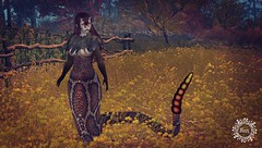coming soon to the Fallen Gods 14th Anniversary - NEW Autumn Skins for the Lamia/Naga