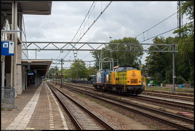 Photo:RRF 23 + VR 203-5 // Dordrecht, Station // 11 september 2021 By Quinn Torsius