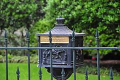 Letter, ornate, mail box