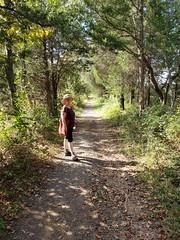on a Manassas path