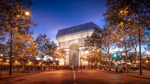 Arc de Triomphe, Wrapped, Paris