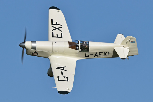 Photo:Percival Mew Gull 'G-AEXF' By HawkeyeUK