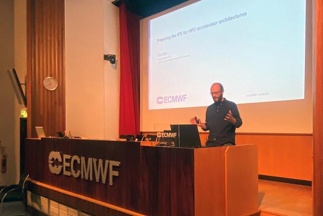 Photo:Michael Lange (ECMWF), HPC in meteorology workshop, virtual, September 2021 By ECMWF