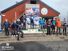 Prize giving Olympic Class Regatta 2021