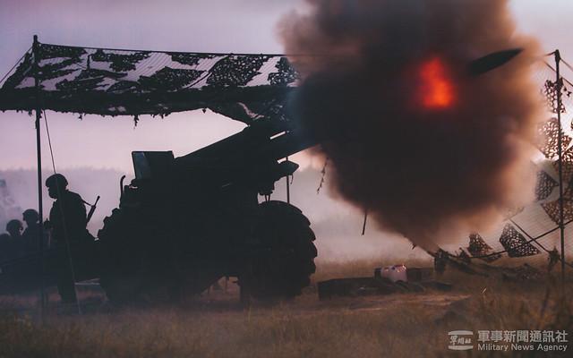 漢光37號演習澎防部反登陸作戰操演