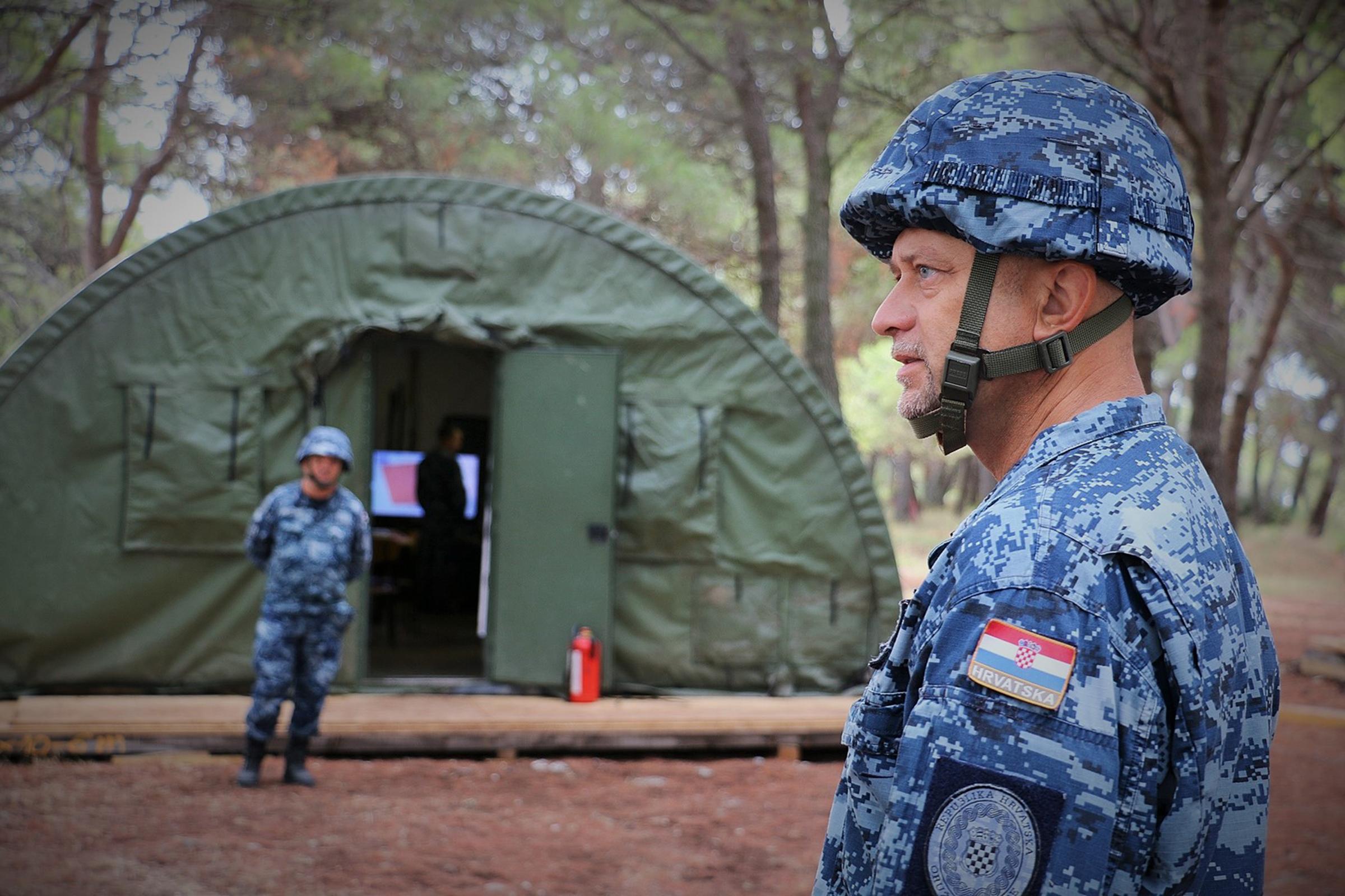 Hrvatska ratna mornarica provela vježbu Harpun 21