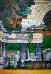 Vienna, fake Roman ruins, Schloss Shoenbrunn